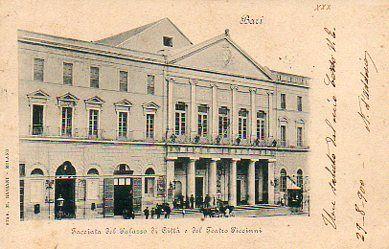 Piccinni theatre - 1900