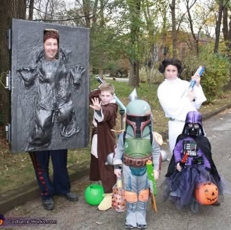 Yes, this will be our family someday... Star Wars Family Costumes