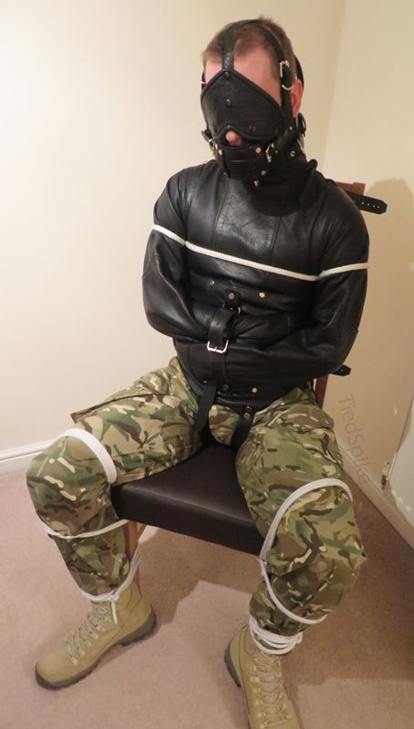 """tiedspike: """"a tight straitjacket and head harness is a great feeling. """""""