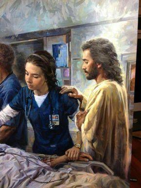 El amor de Dios, brilla a través de mi en lo que hago @ Soy Gris , Soy enfermera de corazón