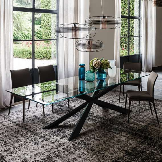 Spyder Dining Table By Cattelan Italia Cattelan Italia Dining Tables Contemporary Dining Room Design Italian Furniture Modern Luxury Dining Tables
