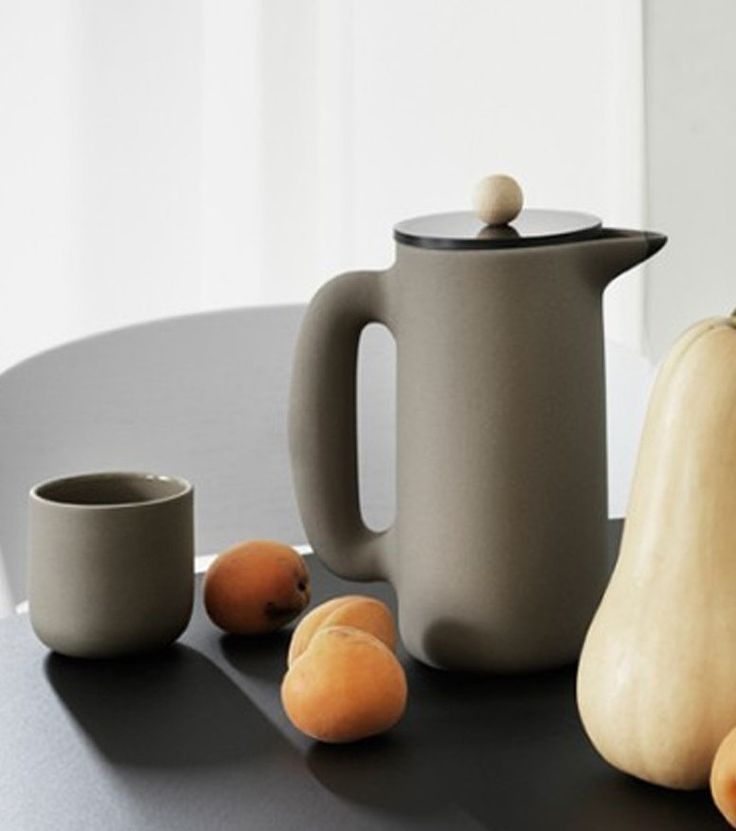 Muuto | Push Coffee Maker https://www.surrounding.com.au/push-coffee-maker/ Muuto Push Coffee Maker Push by Muuto is a coffee maker with a contemporary Nordic design twist. A combination of natural materials, including a stone body and beech wood knob give Push a soft and pleasant touch. Designed for brewing pressed coffee, Push can also be used for tea or as a water carafe.The Muuto Push Coffee Maker was designed by Mette Duedahl.