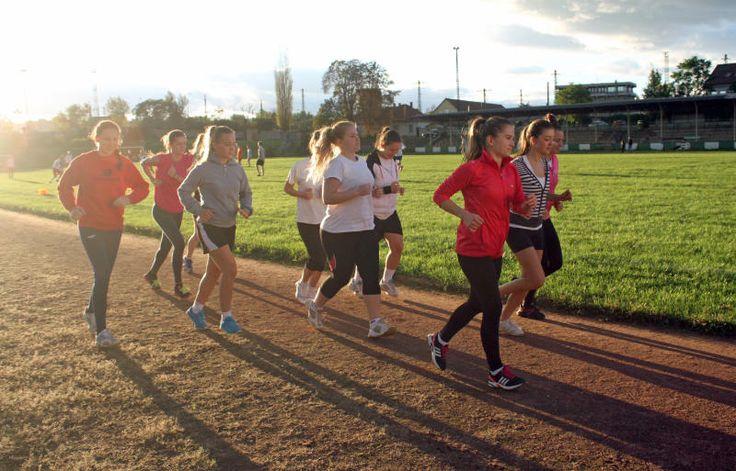 Női kézilabda edzés #miskolc http://boon.hu