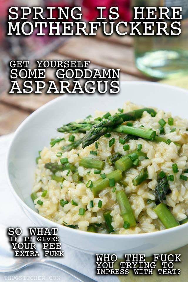 Thug kitchen asparagus