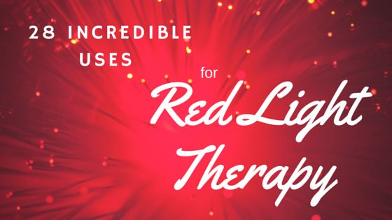 Here's how a simple red light therapy home device can change your life :)  28 incredible benefits and uses for red light therapy - Easily administered at home!