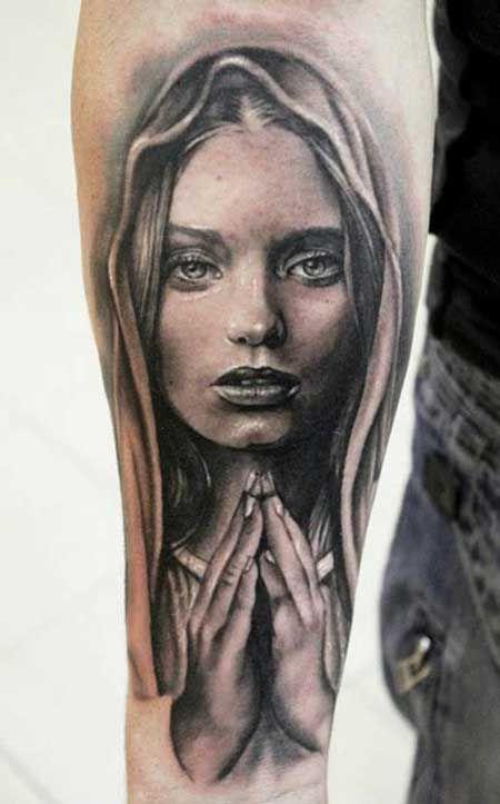 tatuagem religiosa