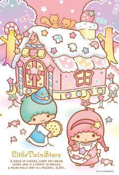 Amazon.co.jp: リトルツインスターズ 108マイクロピース キキ&ララ「お菓子の家」 M108-150: おもちゃ