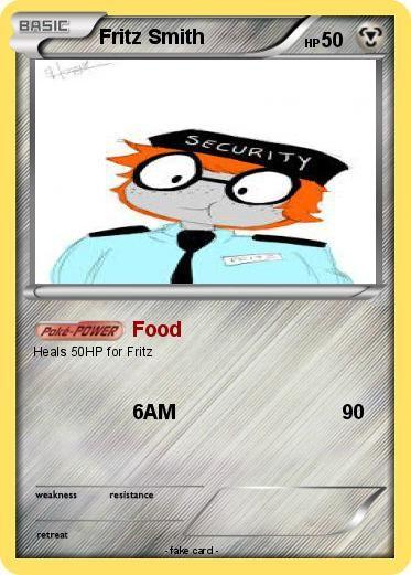 My Pokemon Card Fnaf Pokemon Cards Pinterest Pok 233 Mon Fnaf And Freddy S