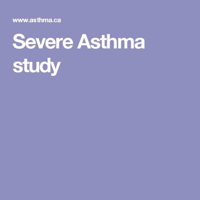 Severe Asthma study