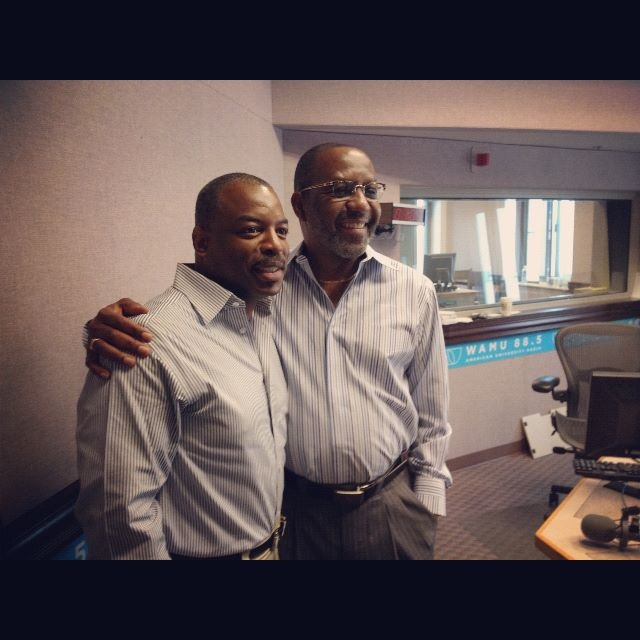 LeVar Burton and Kojo
