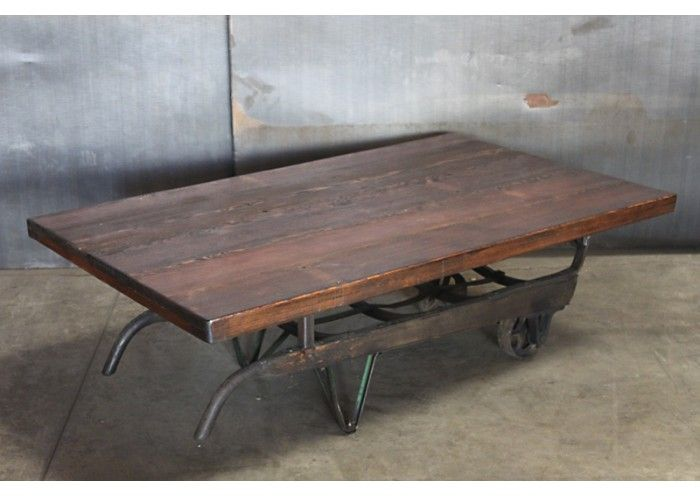 Hand Coffee Table Part - 19: Hand Truck Coffee Table