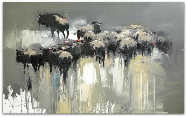 Herd (you were leaving) Sold by Peter G Hall, via Flickr