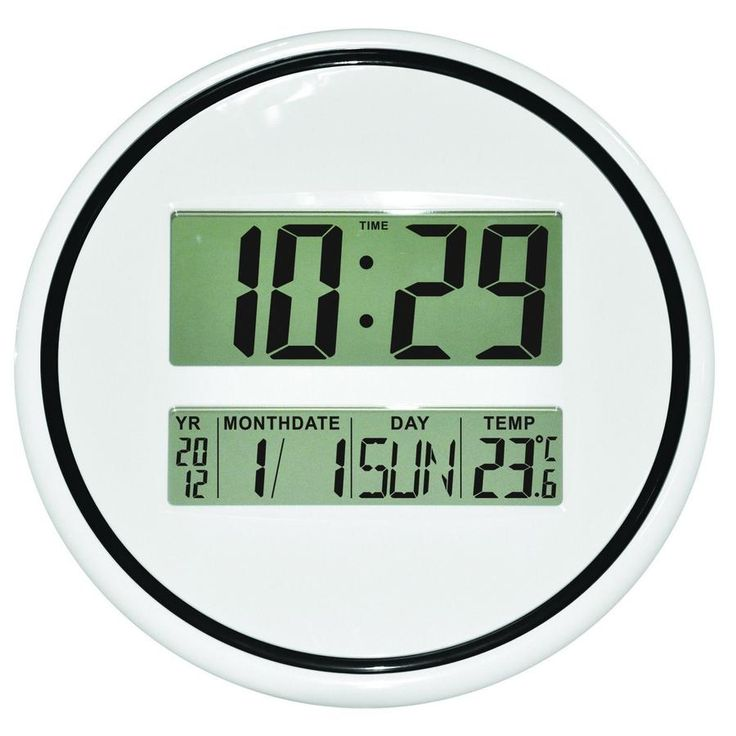 Related image Buy Wall Clocks Online - Fast Free Shipping | Oh Clocks Australia Oh Clocks900 × 900Search by image Pearl Time LCD Wall Clock White E2126
