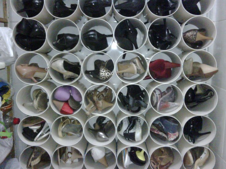 riciclo creativo per scarpiere fai da te