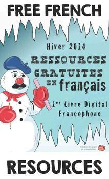 FRENCH TIPS AND FREEBIES E-BOOK: WINTER 2014: RESSOURCES GRATUITES EN FRANçAIS - TeachersPayTeachers.com