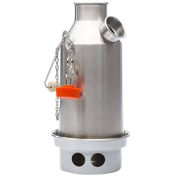 Kelly Kettle Stainless Steel Camp Stove Desain