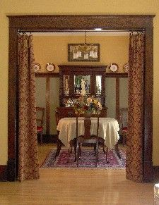 Craftsman Styled Window Treatments
