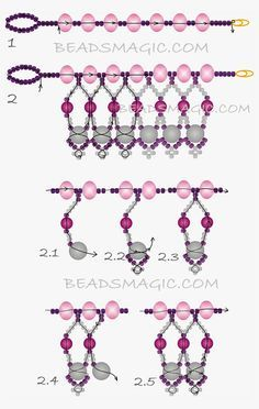 Free Pattern For Beaded NecklaceMariposa | Beads Magic