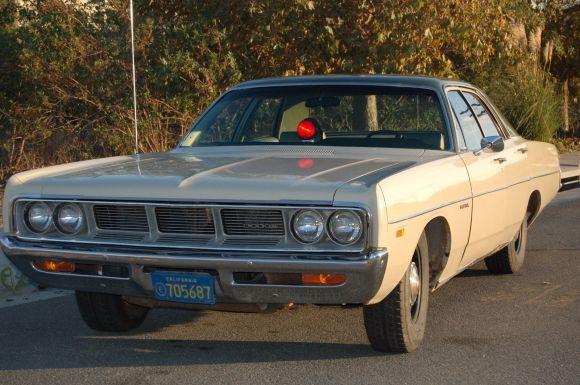 No-Reserve 1969 Dodge Polara Sedan with police package ...