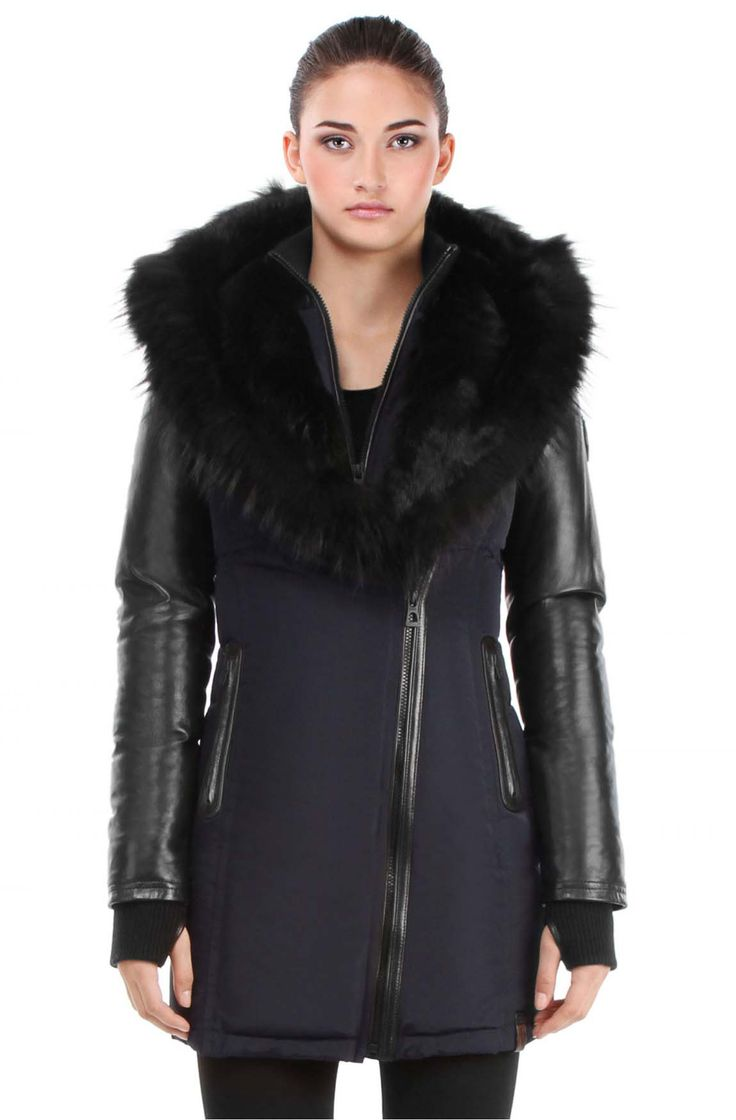 Rudsak Winter Jacket- Grace 8113928 in navy | espace miX miX