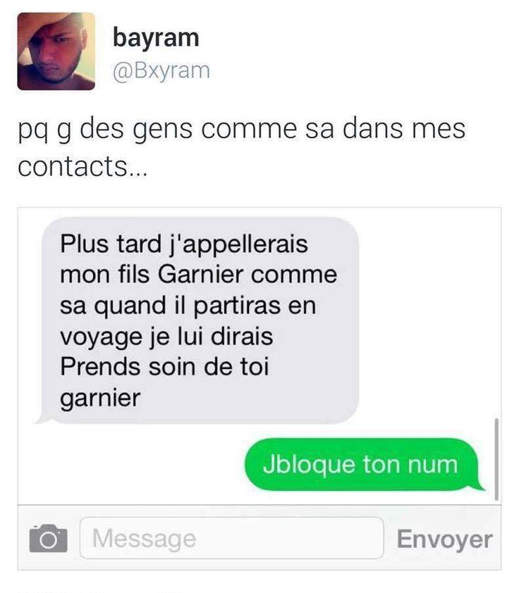 Zou Bisous Bisou...Pends soin de toi Garnier mdrrrr !!!