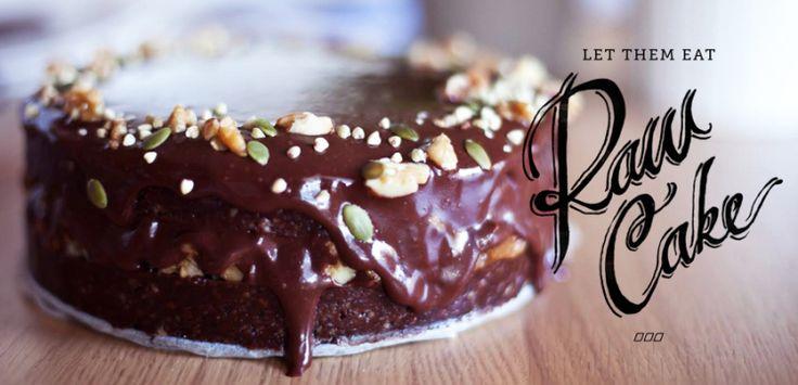 "Let Them Eat Raw Cake! The ""Lorna"" Cake Recipe Revealed. - Move Nourish Believe"