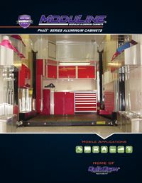 PROII Trailer Cabinets by Moduline Catalog