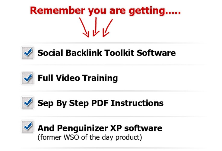 Powerful Social Backlinking Software