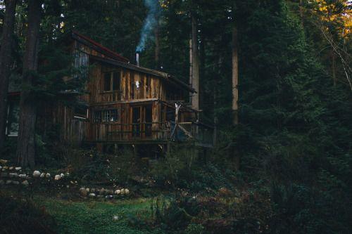 nicktingren: Curtis's Cabin | Sunshine Coast BC