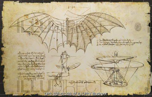leonardo da vinci sketches of flying machines - Google Search
