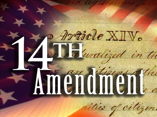 The 14 amendment was ratified in 1868 in order to define citizenship( if you are born in the U.S you are automatically a citizen), set the requirement of due process to every individual accused (from Miranda rights to the jurisdiction), and enforce that congress can't make any law that discriminates.