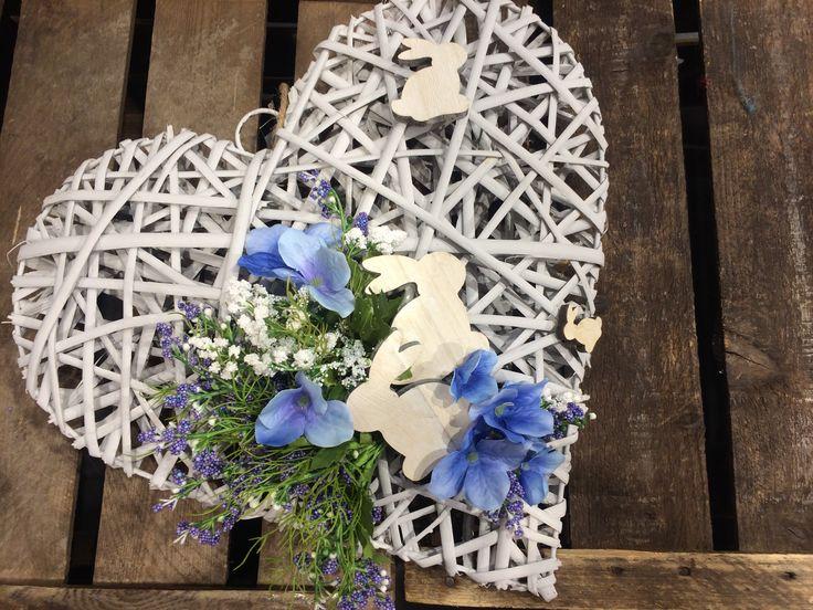 Herz mit Osterndeko (alles by NANU-NANA)