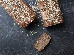 Celozrnný chlieb bez rozkvasu s dlhšou fermentáciou - Zdravé pečenie