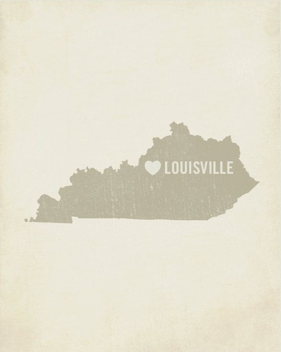 83 best louisvillelove images on pinterest louisville kentucky louisville art print kentucky art louisville art by luciusart solutioingenieria Choice Image