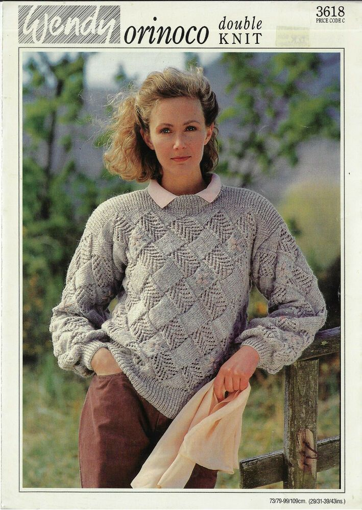 "Wendy  DK Knitting Pattern LadIes Lacy Cardigan  Size 30//40/"" Chest"
