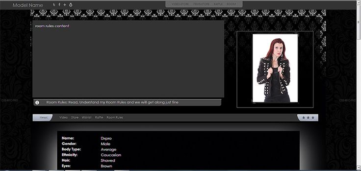 news slide header myfreecams black edit profile