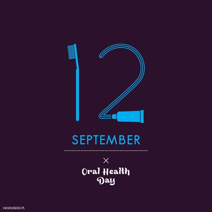 12th September- Oral Health Day   / Dzień Zdrowia Jamy Ustnej    by haveasign.pl