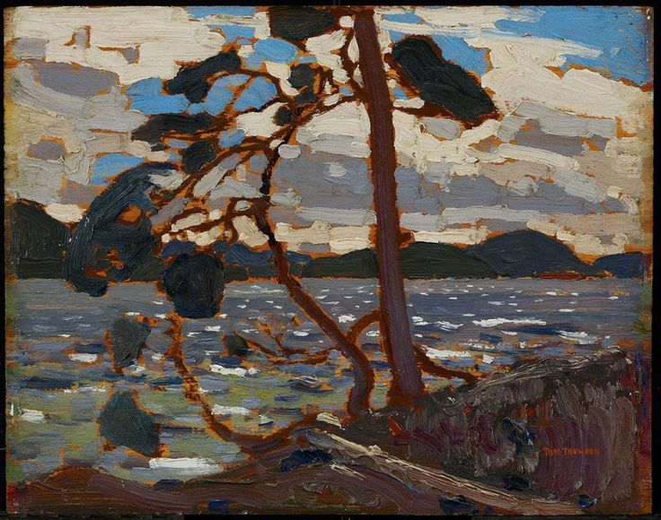 "Tom Thomson, Sketch for ""The West Wind"", spring 1916 - Art Gallery of Ontario 