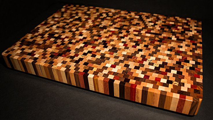 Beautiful Handcrafted End Grain Multiwood by DovetailArtistry