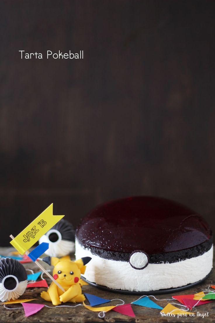 A las 20:30 aprox. del día 15 de septiembre de 2003 nac í a mi Javichu. Hoy hace 13 años.  Una tarta pokeball que no es más que una tarta...