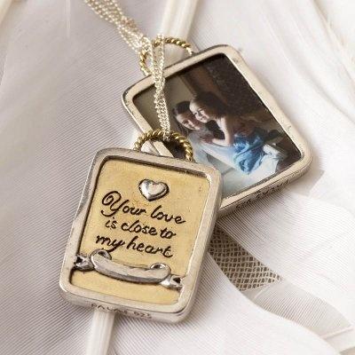 Photo frame pendant #873 #palasjewellery