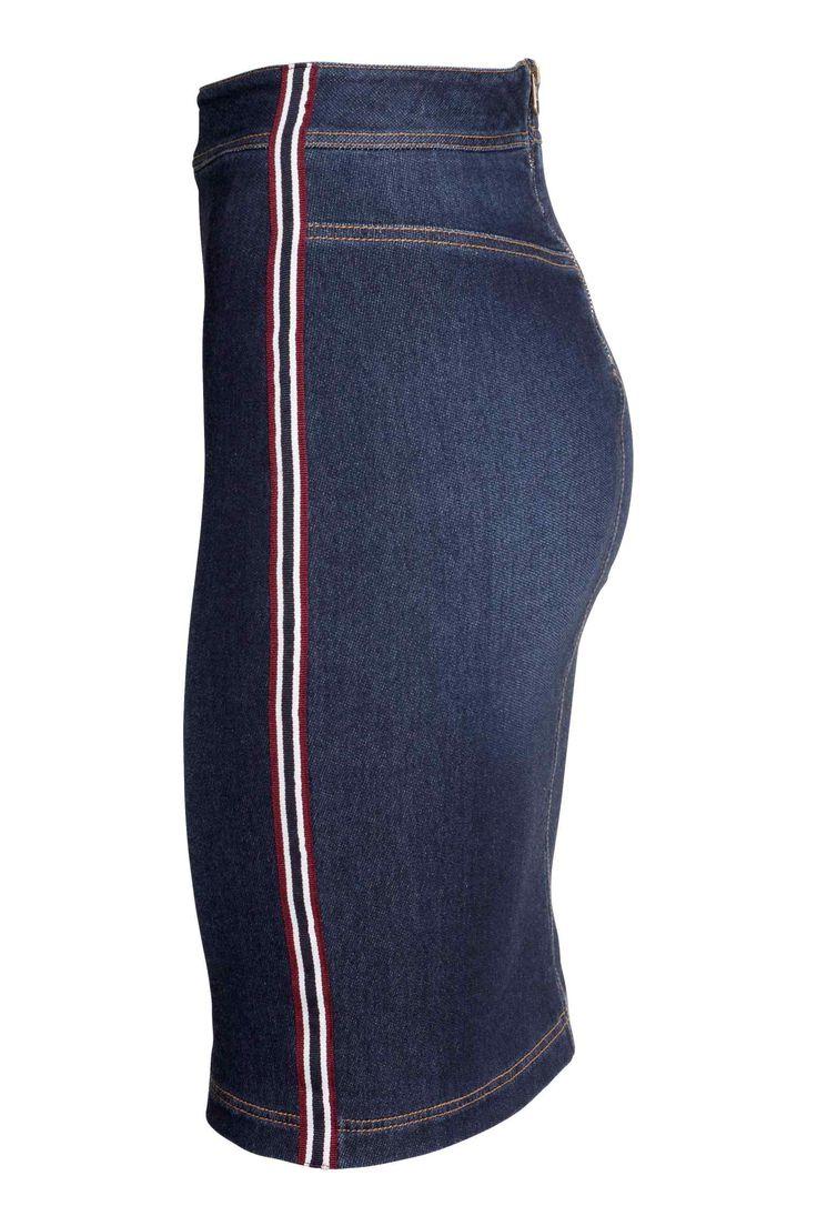 les 25 meilleures id es concernant jupes en jean sur pinterest tenues de jupe en jean jupes. Black Bedroom Furniture Sets. Home Design Ideas
