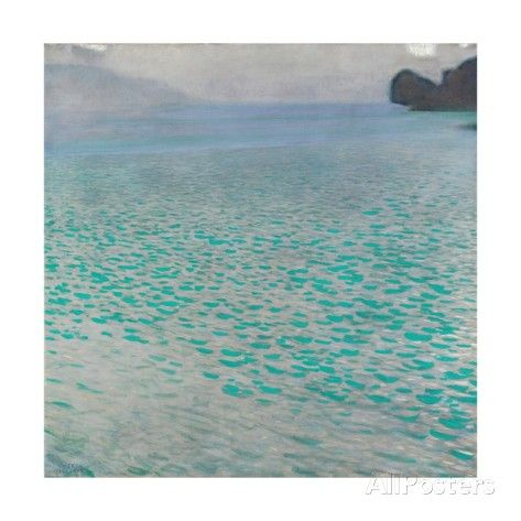 Attersee Giclee Print by Gustav Klimt - AllPosters.co.uk