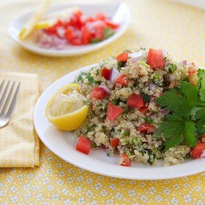 Quinoa Tabbouleh Salad Recipe | Yums Yums | Pinterest
