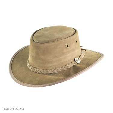 how to clean a barmah leather hat