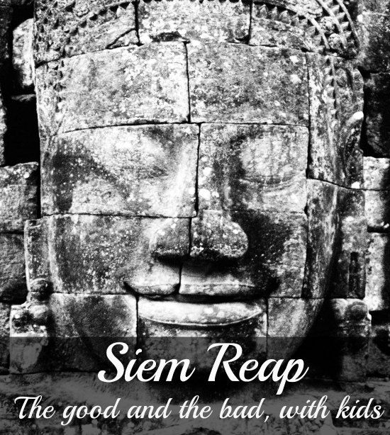A week in Siem Reap. It wasn't love at first sight, far from it. Angkor Wat and the whole complex are stunning, an amazing place to take kids and Cambodia is fantastic, but Siem Reap...not sure.