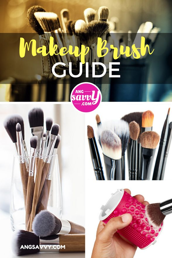 how to use face makeup brush