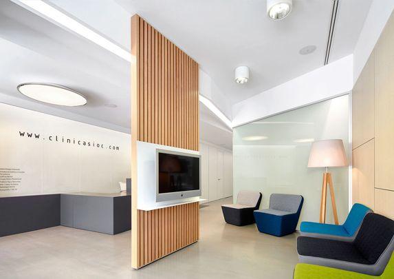 Mobiliario clínica dental sala de espera | Muebles de oficina Spacio