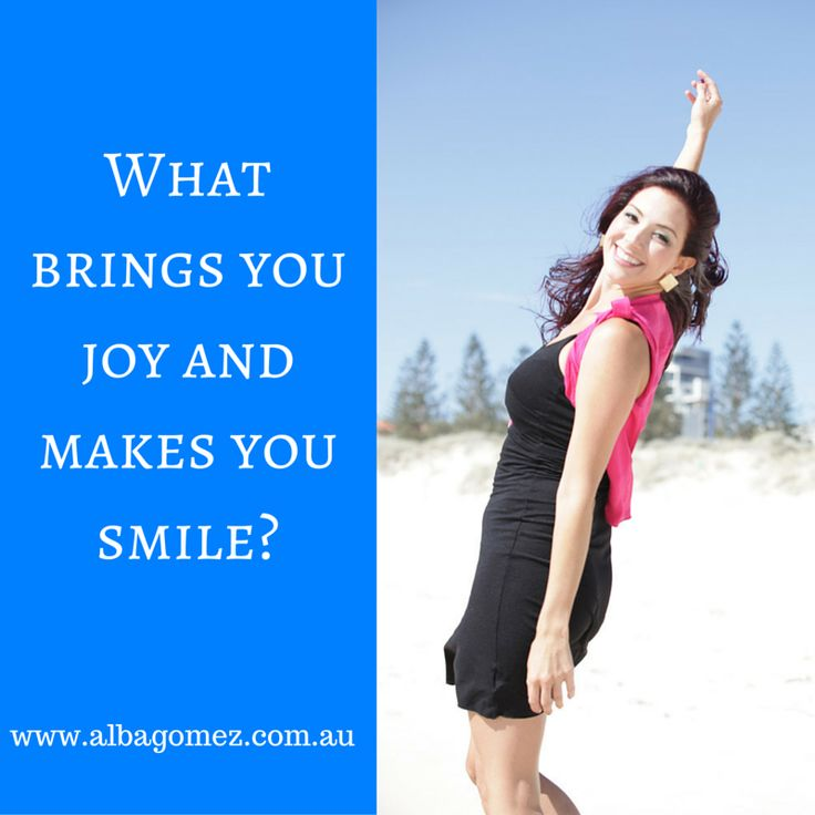 It's a NEW YEAR, time to take charge and do what brings you joy and makes you smile!