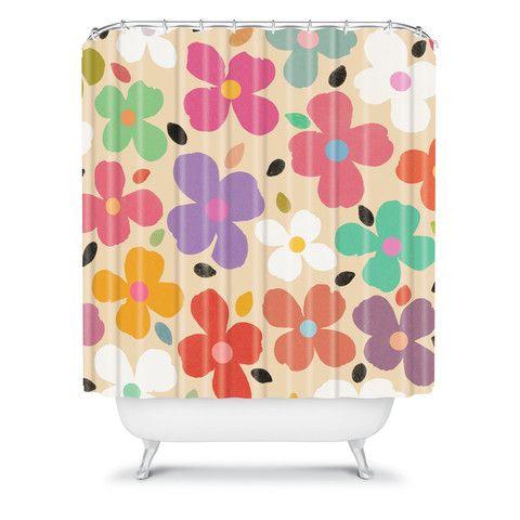 Garima Dhawan Dogwood Vintage Shower Curtain/DENY